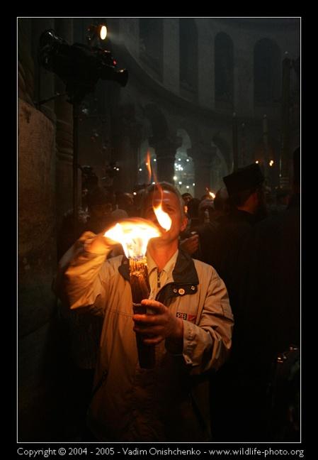 la luce santa