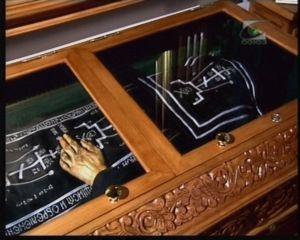 St Alexander of Svir relics